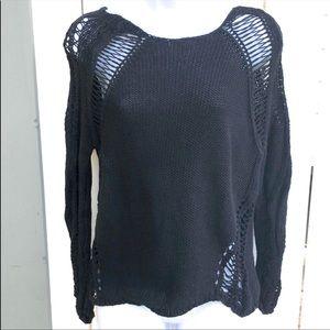 Millau Destroyed Cotton Sweater B11